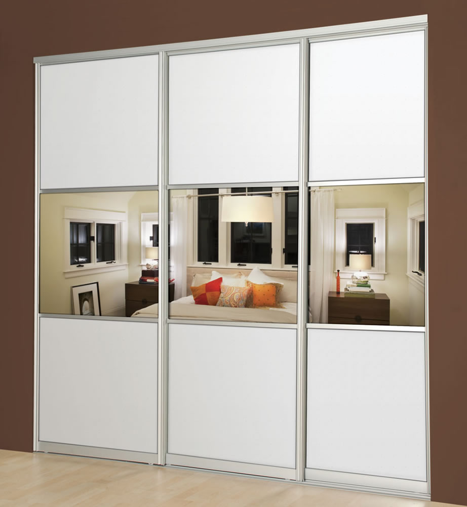 How To Make A Free Standing Wardrobe With Sliding Doors: Sectional Sliding Doors